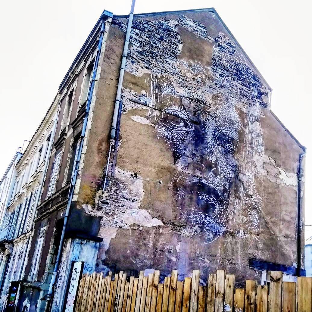 vhils - street art - angers - france
