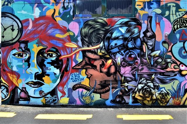 berst - street art - taupo