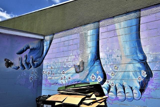 erin forsyth - street art - taupo
