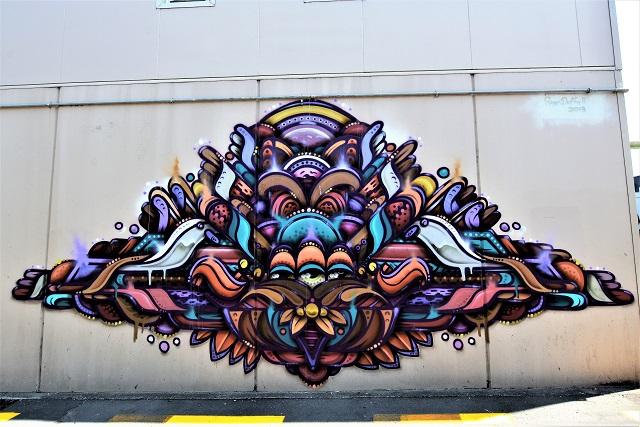 ghostie - street art - taupo