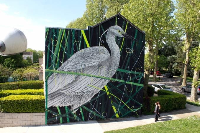 twoone - street art avenue - wall streetart festival grand paris sud - lieusaint