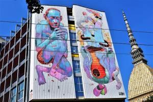 aryz - street art - turin - italie