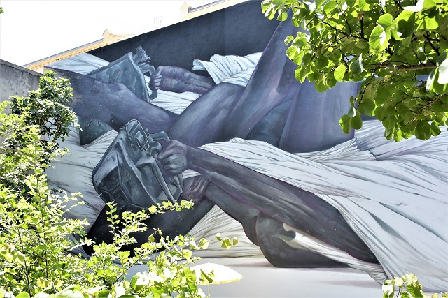 bom.k - street art - marseille