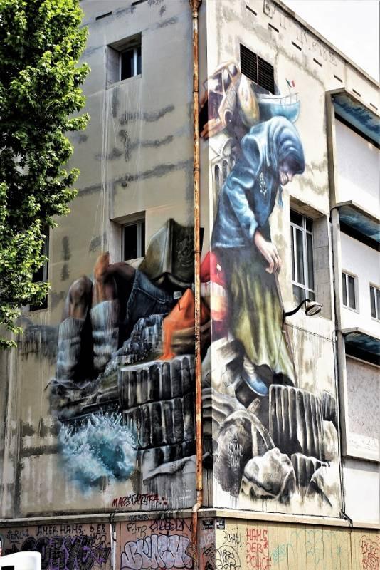 nomad clan - street art - marseille