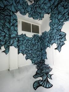 lazuli - street art avenue - dedale - vannes