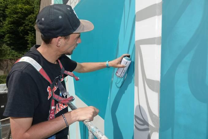 astro - street art - art urbain - perpetuelle illusion - epinal