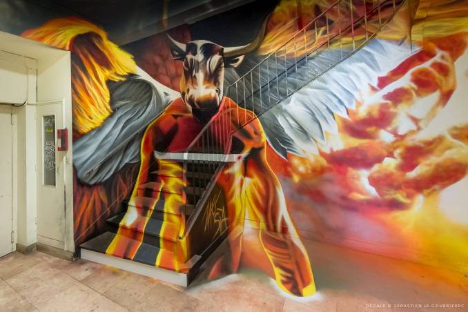 zag sia - street art avenue - dedale - vannes