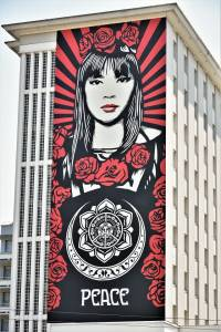 shepard fairey - street art - grenoble