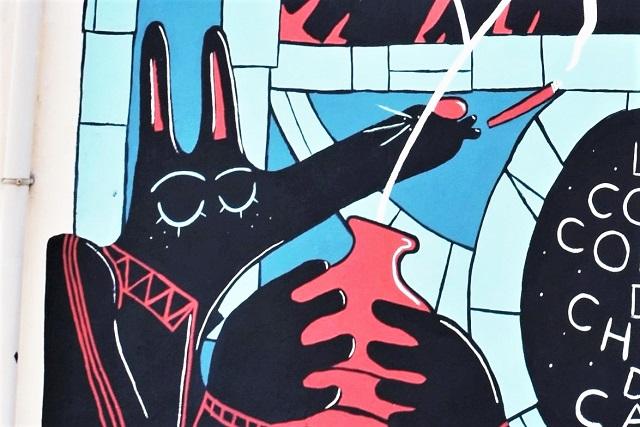 dr ponce - street art - sete