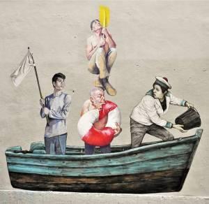 agrume - herard - levalet - street art -marseille