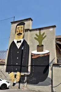 agostino lacurci - street art - turin