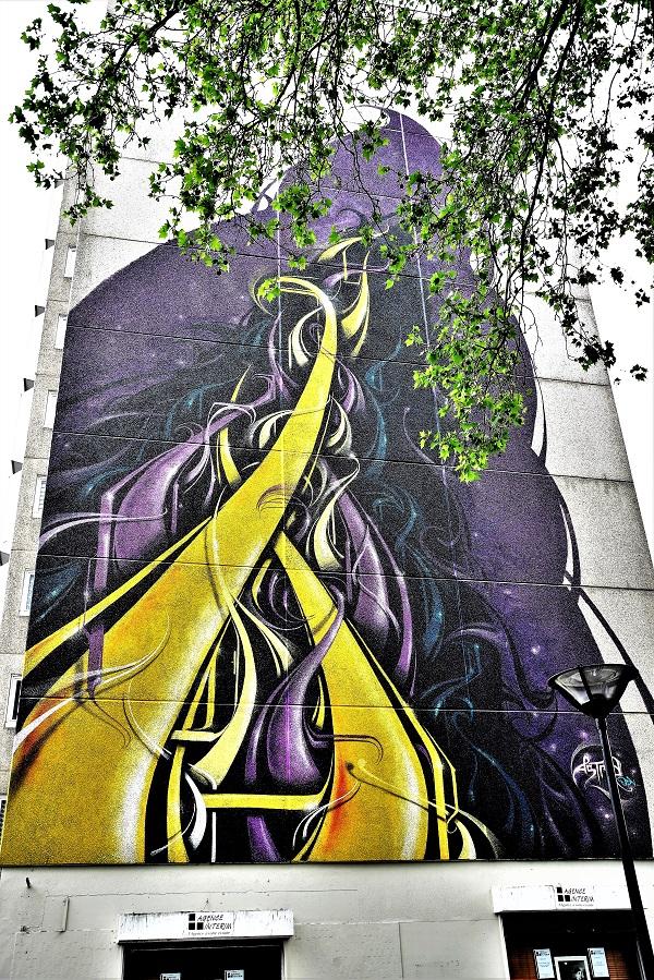 astro - street art - vitry