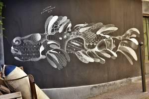philippe baudelocque - street art - sete