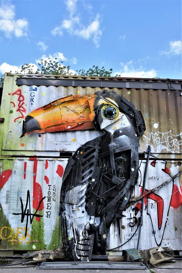 bordalo - street art - berlin