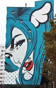 d*face - street art - paris