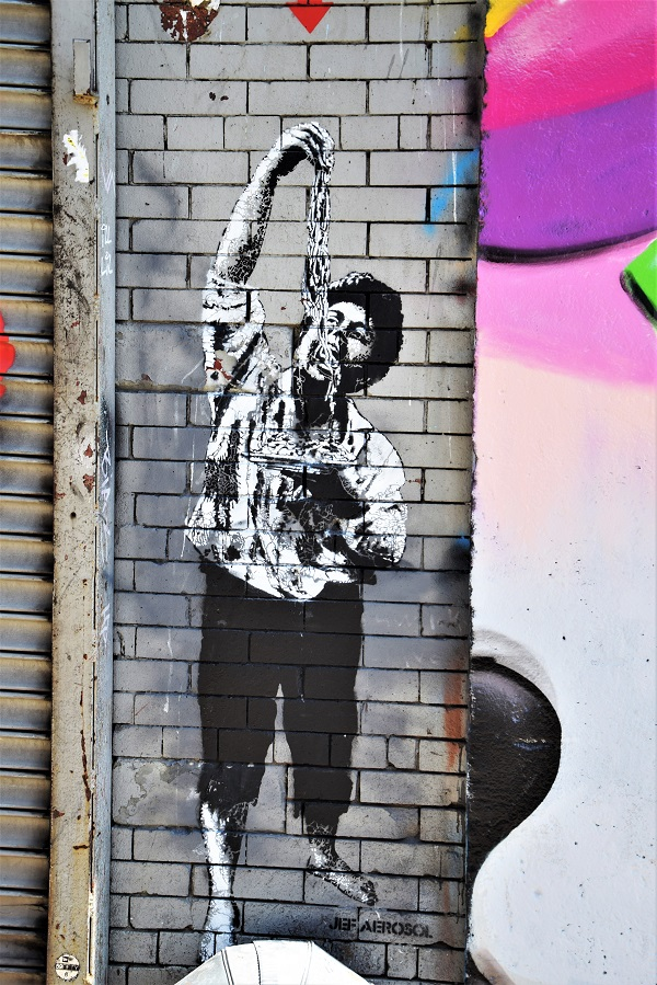 jef aerosol - street art - new york
