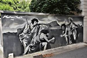 kouka - street art - grenoble