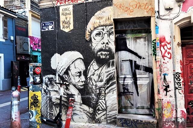 mahn kloix - street art - marseille
