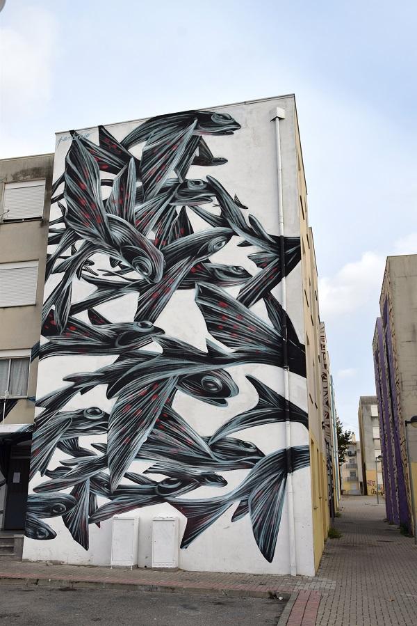pantonio - street art - loures -lisbonne
