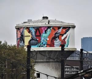 tristan eaton - street art - paris