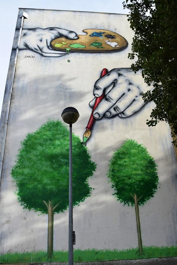 zabpou - street art - loures - lisbonne