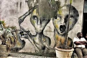 yulier p - street art - la havane