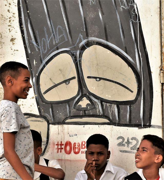 fabian - street art -la havane
