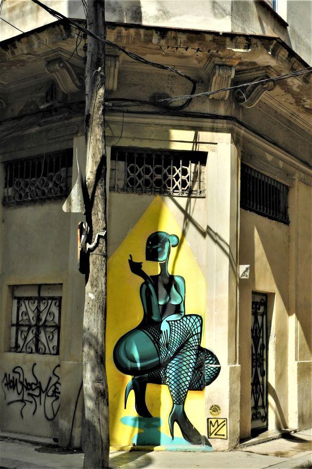 myl - street art -la havane