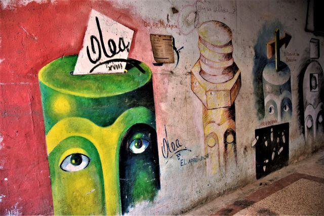 olea - street art -la havane