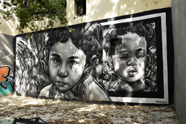 paola delfin- street art -la havane