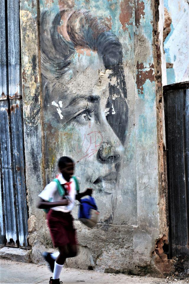rone - street art -la havane