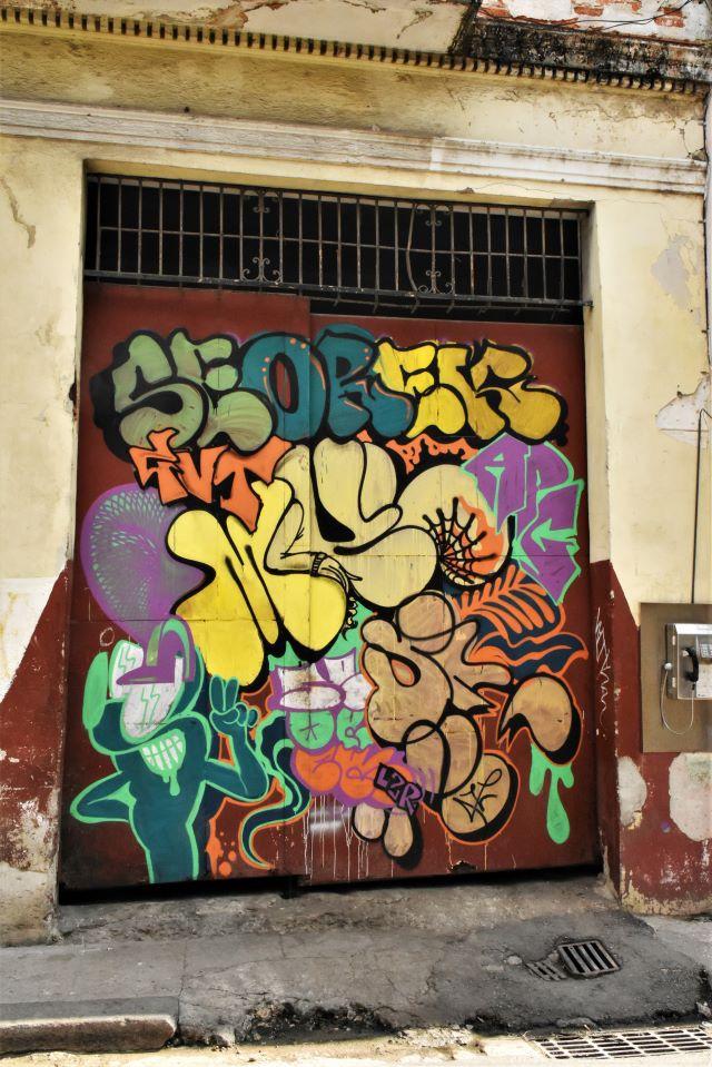 seorek - street art -la havane