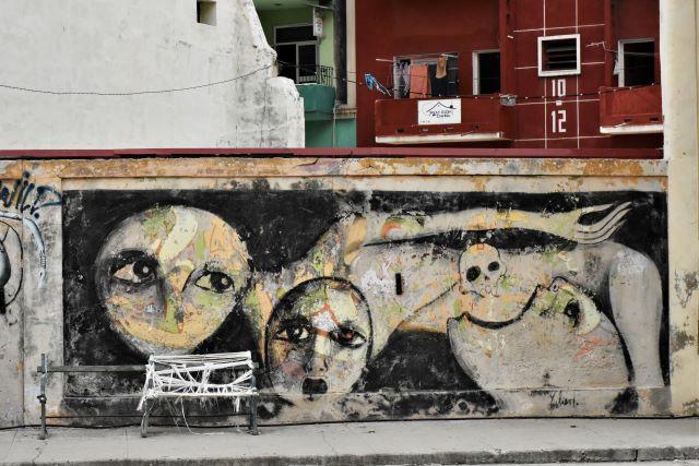 yulier p - street art -la havane
