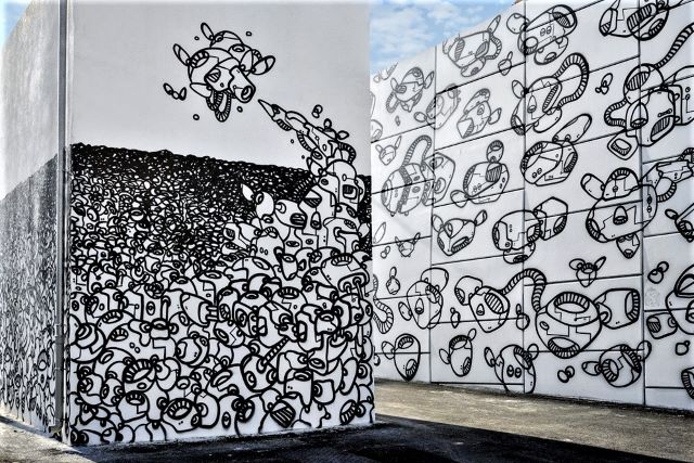 module de zeer- street art avenue - l2 - marseille