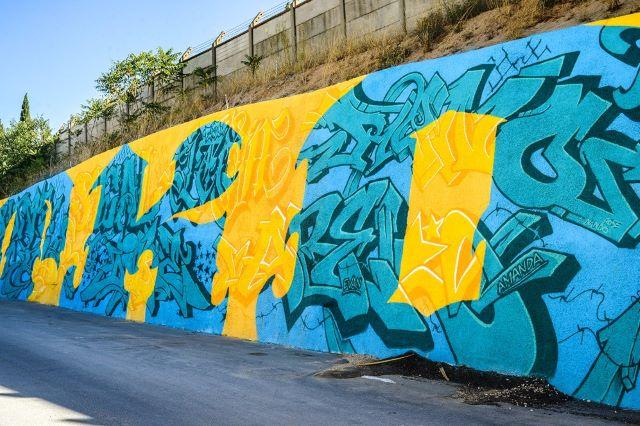 crew tko - street art avenue - l2 - marseille