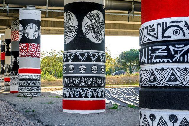 megot - street art avenue - l2 - marseille