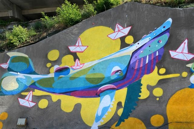gorg one- street art avenue - l2 - marseille
