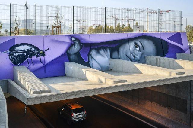 dire132- street art avenue - l2 - marseille