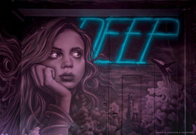 aero - street art avenue - dedale - vannes