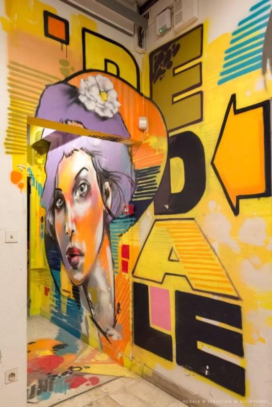 jef - street art avenue - dedale - vannes