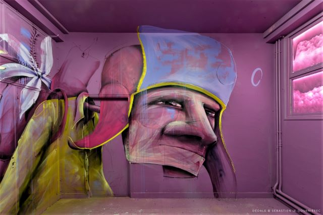 mika - street art avenue - dedale - vannes