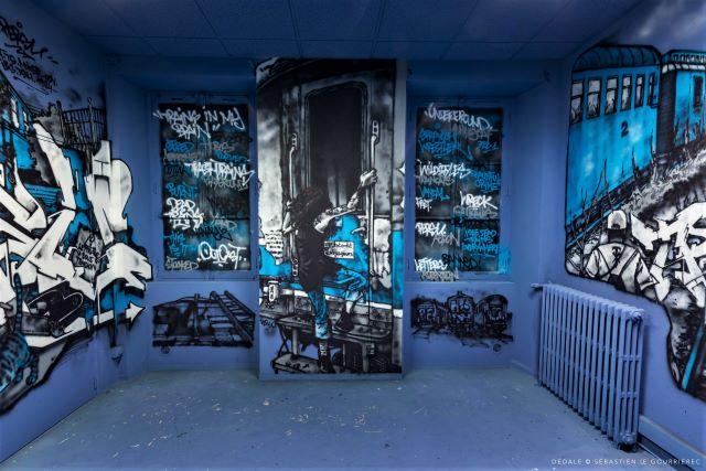 persu - street art avenue - dedale - vannes