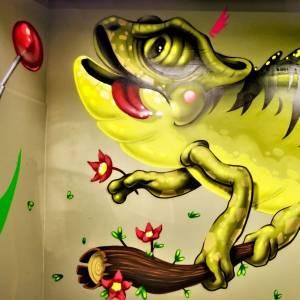 syrk - street art avenue - dedale - vannes