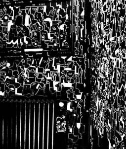 karina - street art avenue - dedale - vannes
