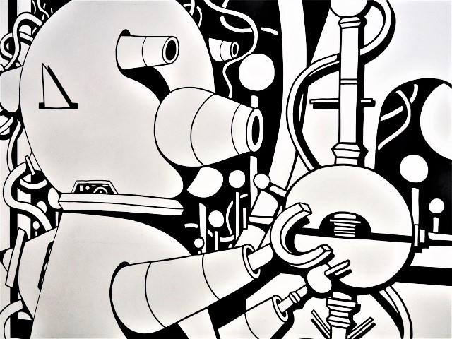 dino voodoo - street art avenue - dedale - vannes