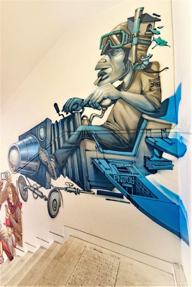 korse - street art avenue - dedale - vannes