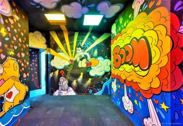 nanananere - street art avenue - dedale - vannes