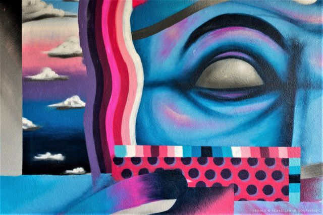 darry perrier - street art avenue - dedale - vannes