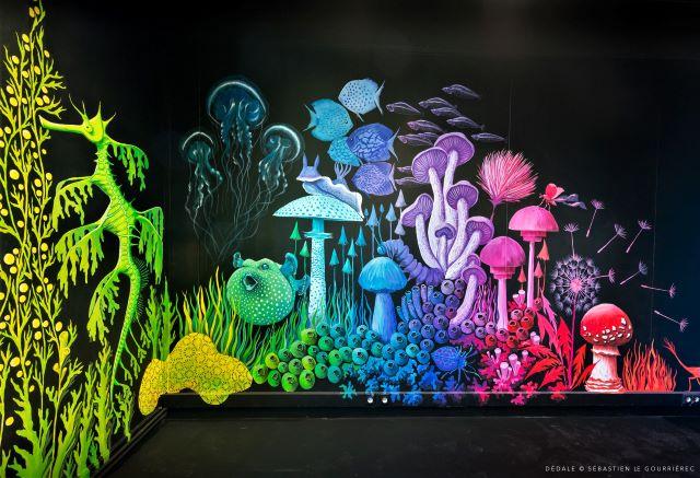 stephanie kilgast - street art avenue - dedale - vannes