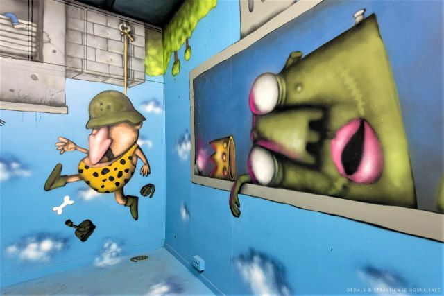 ador - street art avenue - dedale - vannes